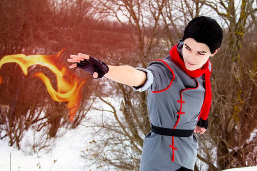 Firebender ( Mako - Avatar: Legend of Korra )