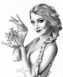 Frozen Elsa model  Maria Amanda by ArtCindyMF