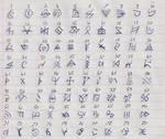 80 Rune symbols