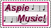 Aspie Music stamp by DarkOnister