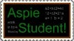 Aspie Student stamp by DarkOnister