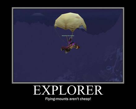 Dedication to exploration