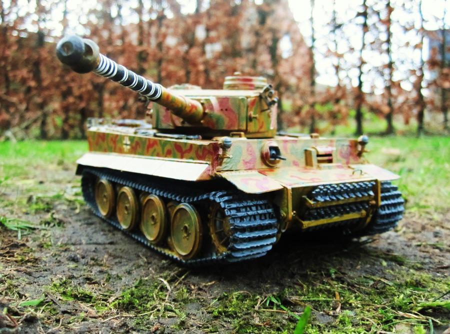 PzKpfw VI Tiger I by bulletinyurass