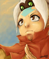 Aang - The Last Airbender by elawra