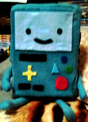 BMO Plush (Front Side) by Catzrock24