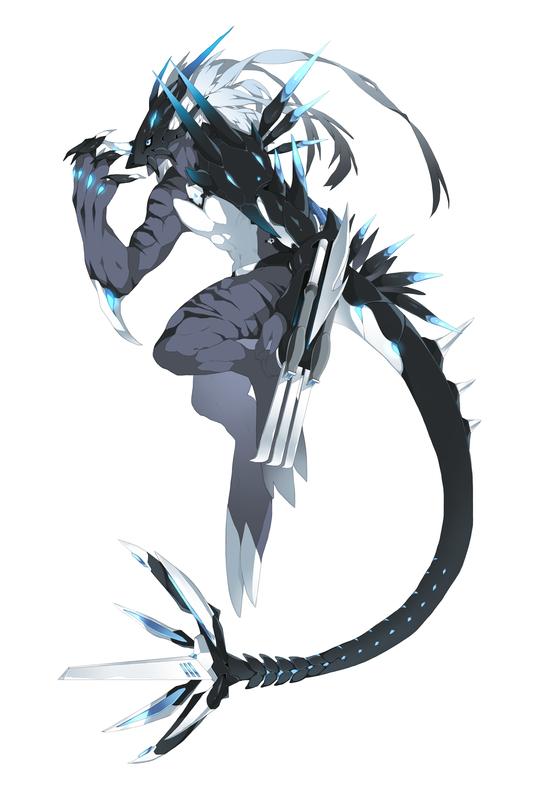 Yuugirimon by iDranOberon