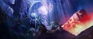 Sleepy Cauldron Forest by Apollyon888