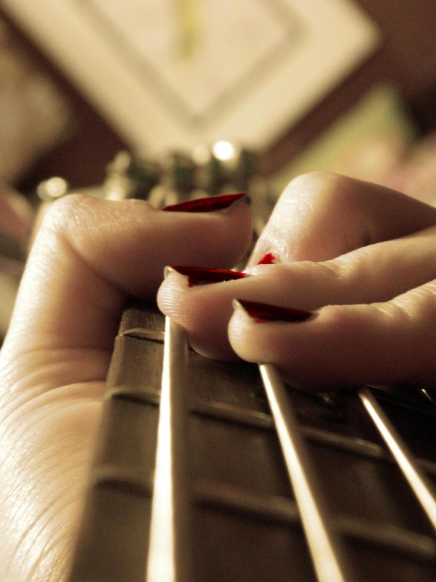 Strings. by creepycoldcupcake
