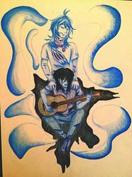 Blue Ghost by ShadSal