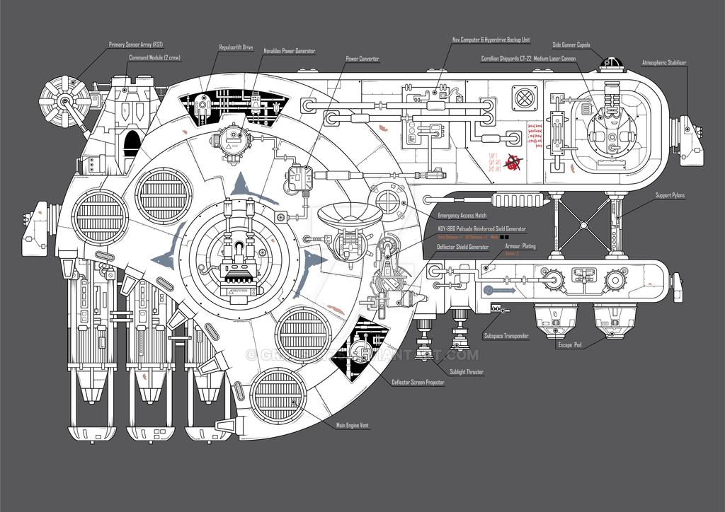 Modern Star Wars Ship Floor Plans Vignette Best Home