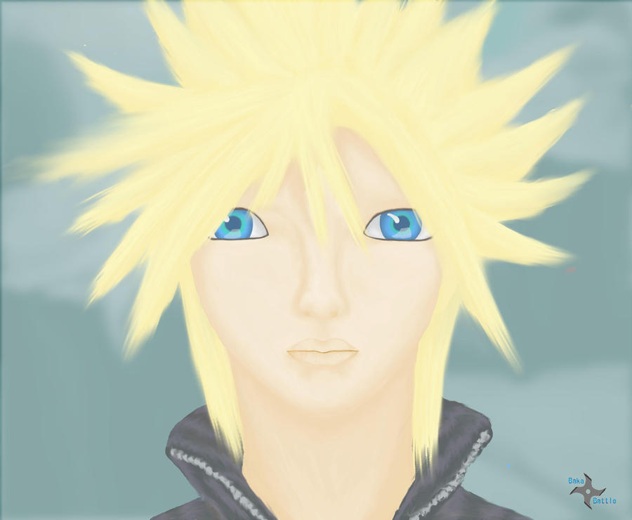 Cloud Strife by BakaBattle