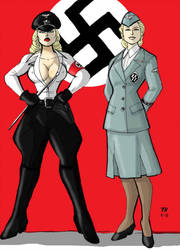 Two Ladies by generalmaximilian