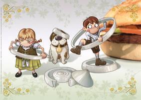 Krunch Family - Kids II - 2007 by Batliebre
