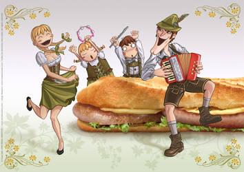 Krunch Family Ilustration I - 2007 by Batliebre
