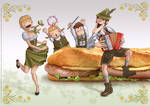 Krunch Family Ilustration I - 2007