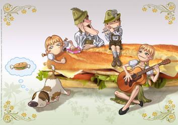 Krunch Family Ilustration II - 2007 by Batliebre