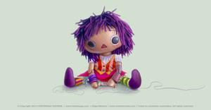 ''Libertia'' - Dori puppet concept - 2011 by Batliebre