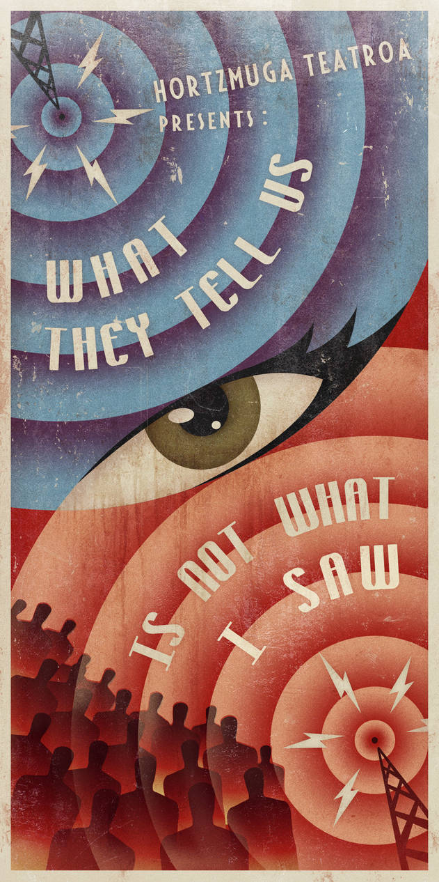 WHAT THEY TELL US IS NOT WHAT I SAW - 2012