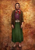 ''Street Consuls'' Character Design: Arantza