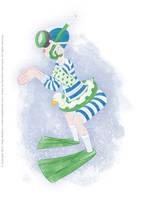 UR-Athloiak - Swimmer Character Concept (2012) by Batliebre