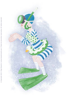 UR-Athloiak - Swimmer Character Concept (2012)