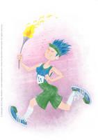 UR-Athloiak - Runner Character Concept (2012) by Batliebre