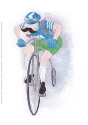 UR-Athloiak - Cyclist Character Concept (2012)