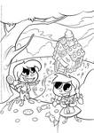 ''Hansel and Gretel'' line art (2013)
