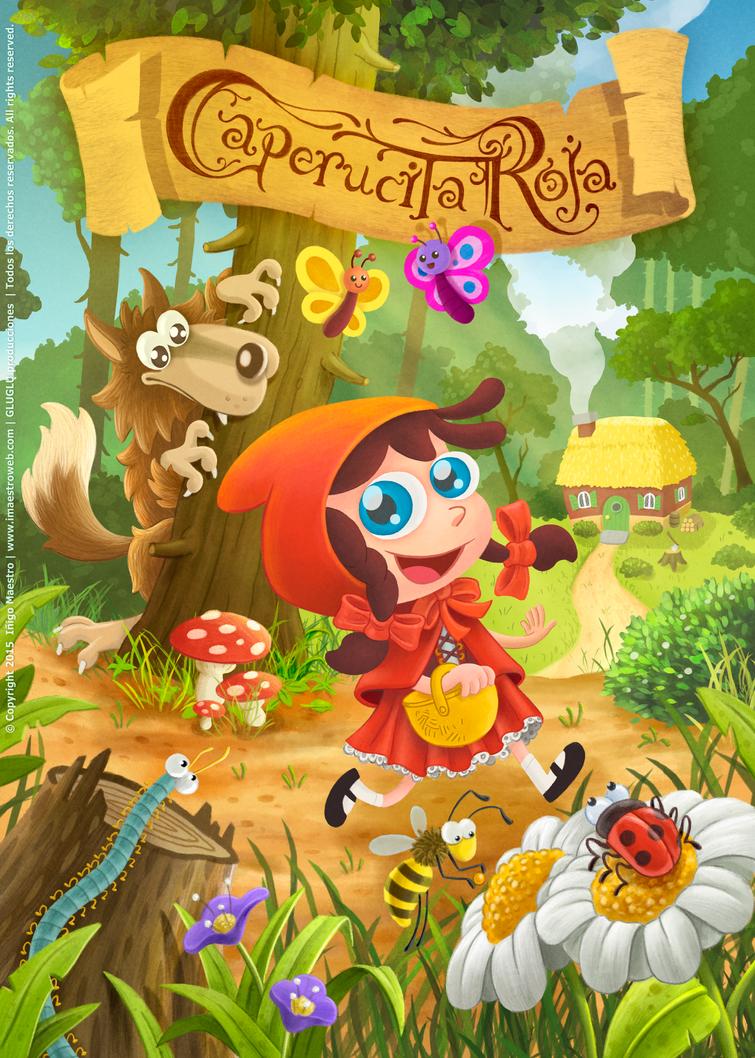 Caperucita Roja poster (2015) by Batliebre