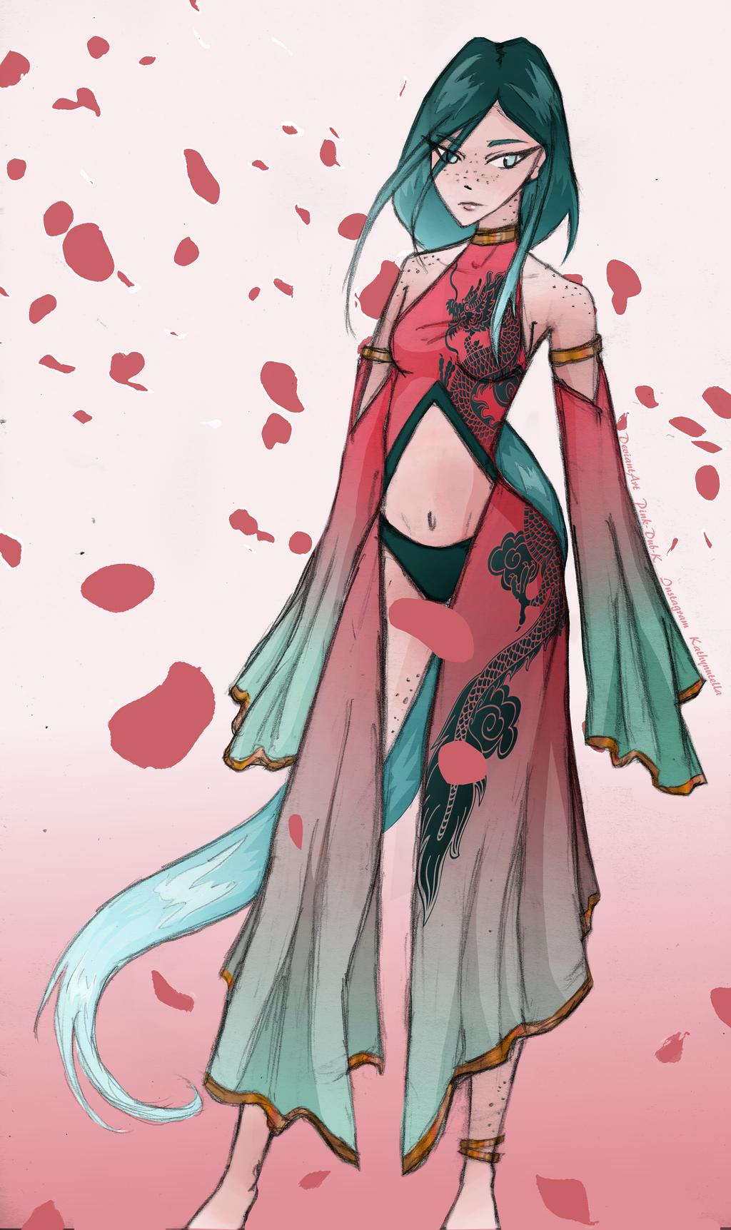 Sakura Fall by Pink-Dub-K