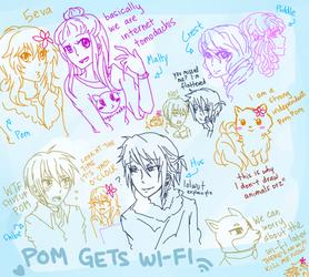 Pom Gets Wi-Fi by digidestined4eva