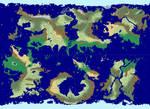 Strata Fantasy World map