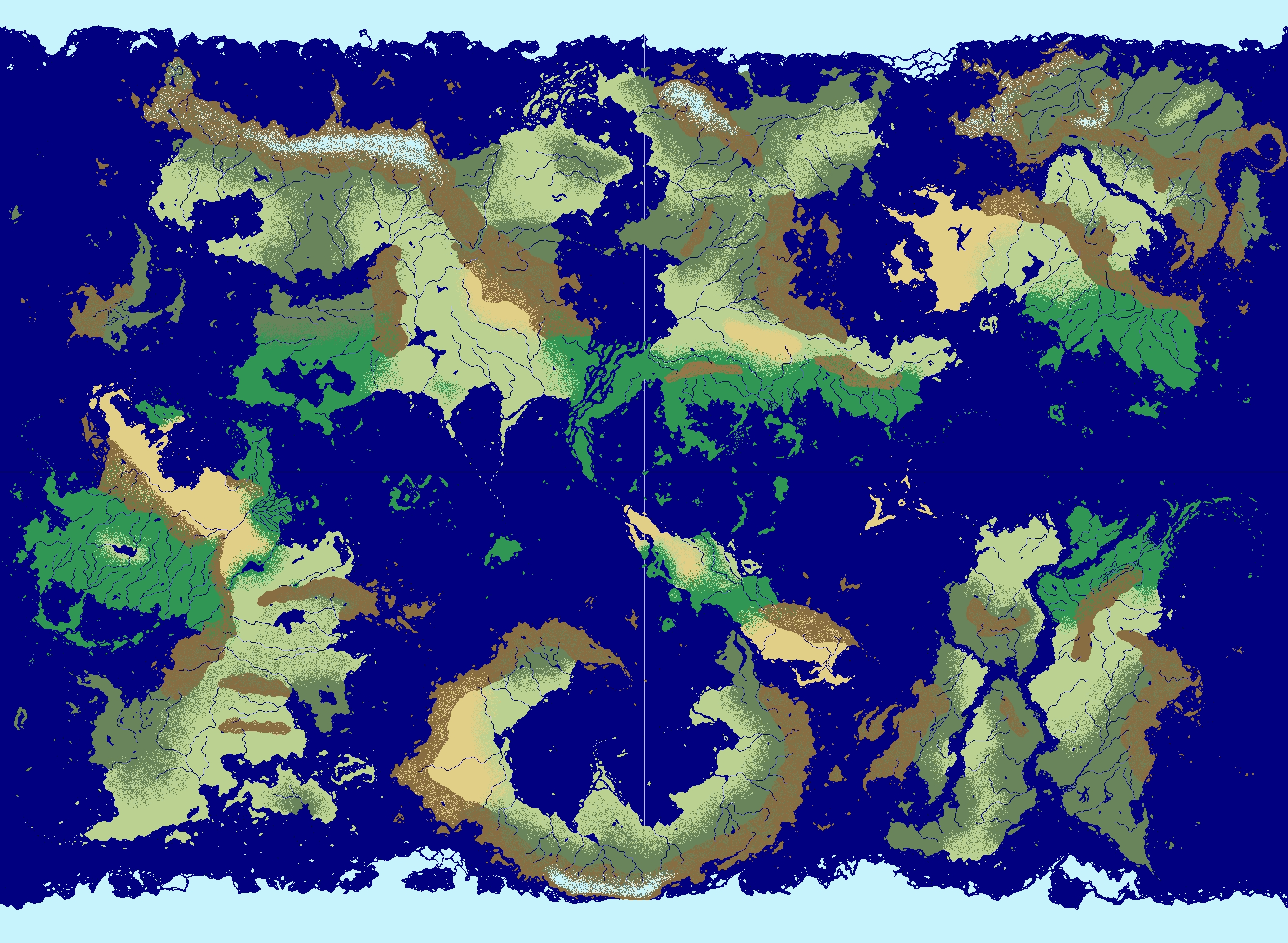 Strata Fantasy World map by Metalpoisoned on DeviantArt