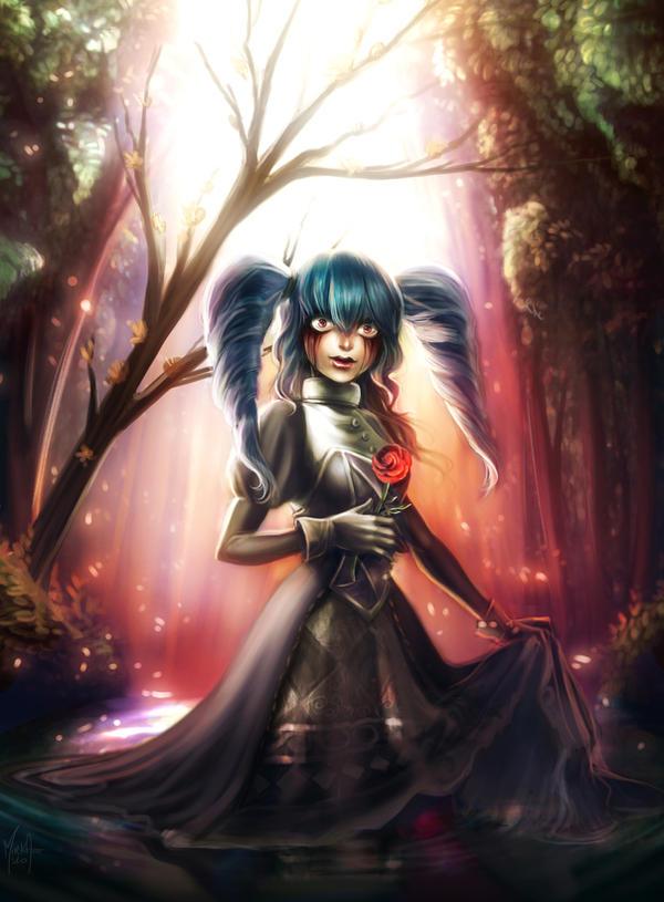 Strange Girl by MirkAnd89