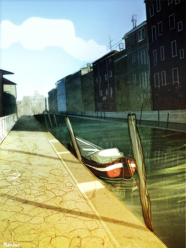 Venice - cartoon