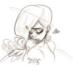 Angelina Sketch