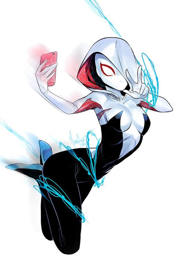 Spider-Gwen by MirkAnd89