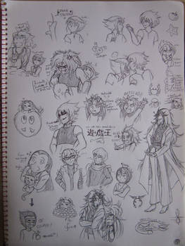 Yu-Gi-Oh! Sketchdump