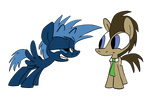 The Doctor and Jack Ponified