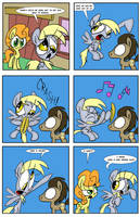 A Derpy Love Story page 7 by JoeyWaggoner