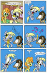 A Derpy Love Story page 7