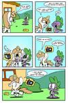 Spike Meets a Fan