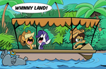An Equestrian Jungle Yacht