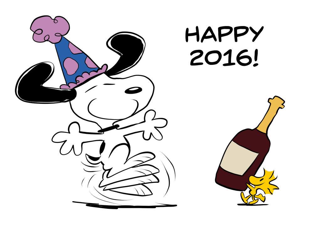 A Snoopy New Year By Joeywaggoner On Deviantart