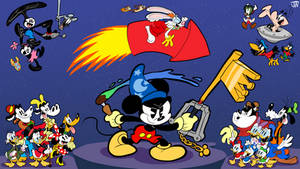 Mickey Mouse Aniversay Tribute by JoeyWaggoner
