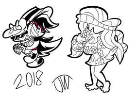 Last Drawings of 2018 Part 2 by JoeyWaggoner