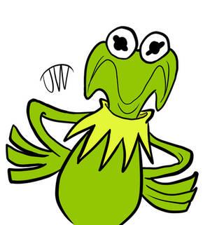 Grumpy Kermit