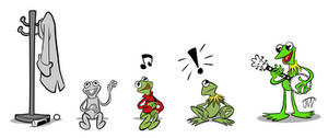 Evolution of a Frog