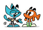 Gumball and Darwin My Style