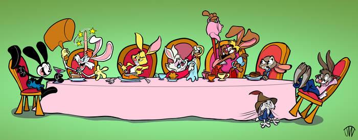 The Disney Bunny Table